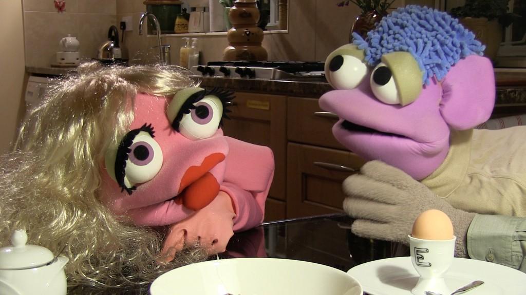 Breakfast scene with Alph & Chah-Lee